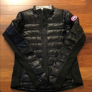 Women Canada Goose hybridge light down jacket,slim